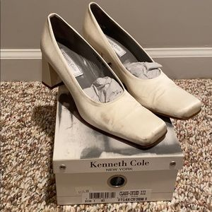 VINTAGE Kenneth Cole Wedding shoes/heels Size 9